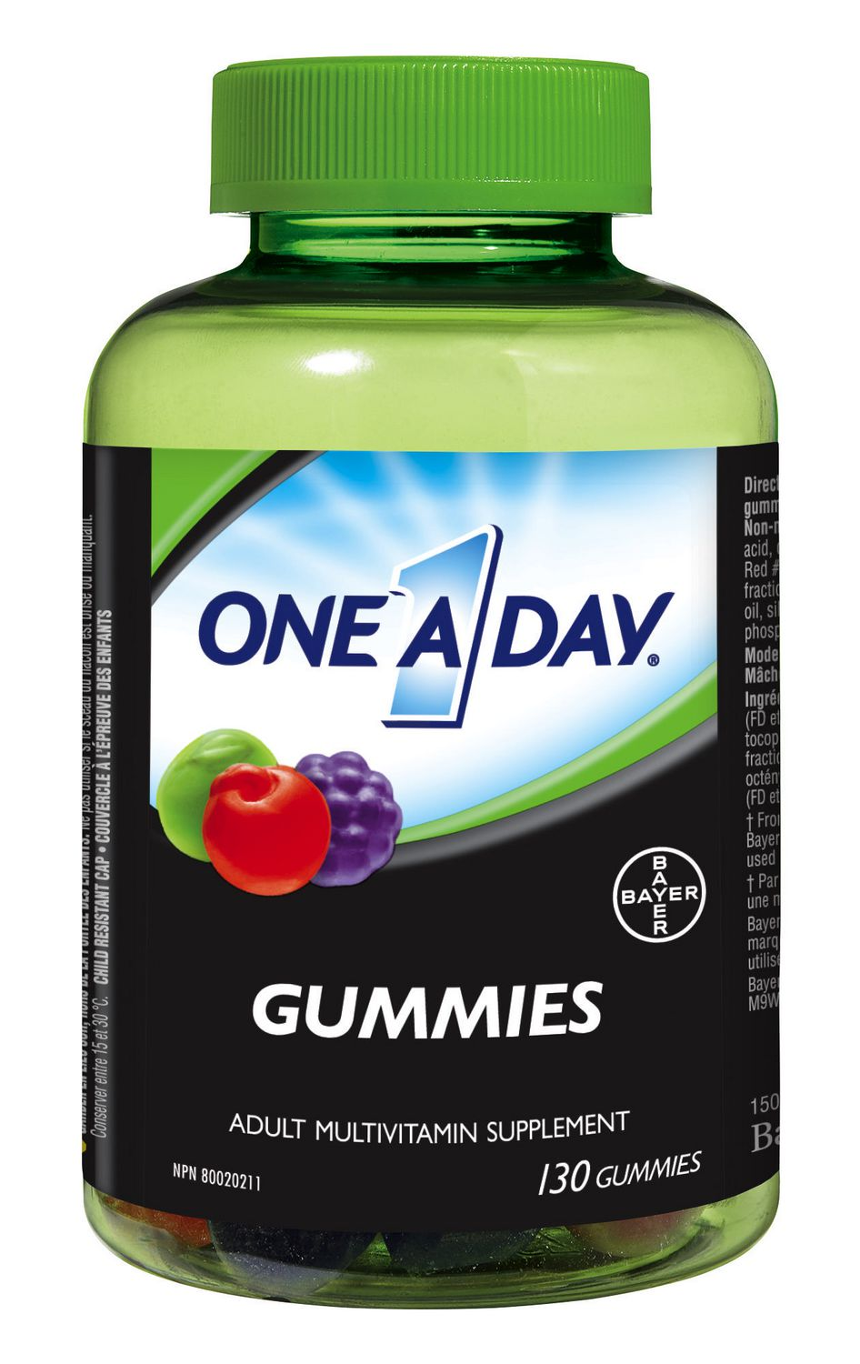 ONE A DAY F/ADULT 130/GUMMIES