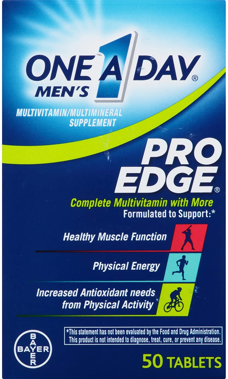 ONE 1 DAY FOR MENS PRO EDGE 50 TAB