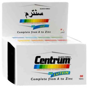 (Centrum with lutein 30 tablets (illegal import
