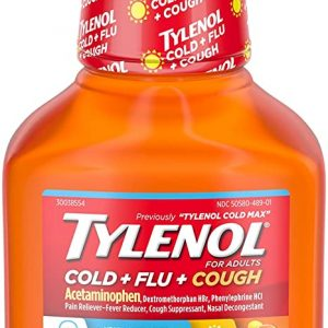 TYLENOL COLD+FLU+COUGH For ADULTS